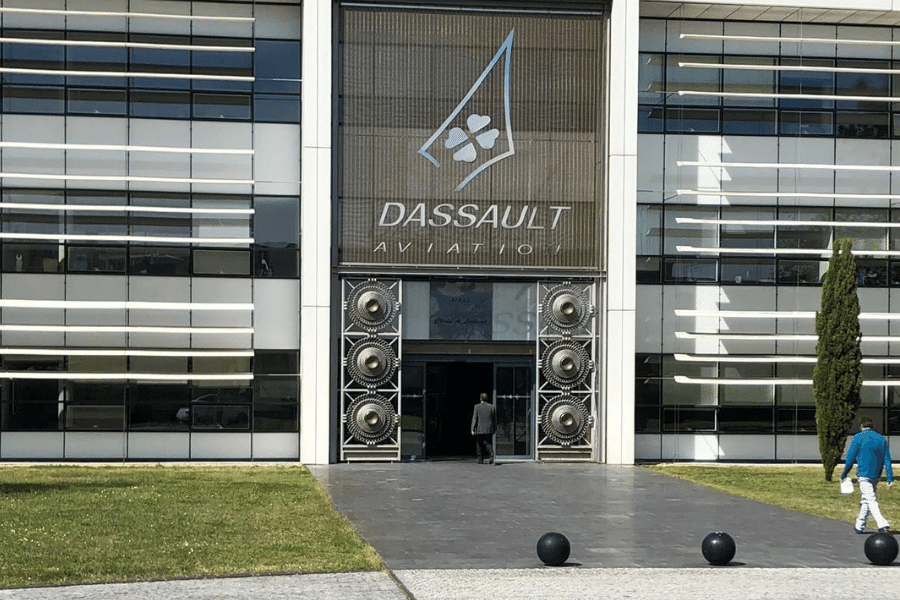 KJET, An Executive Jet Management Company Visits Dassault Aviation; a historic French aircraft manufacturer based in France