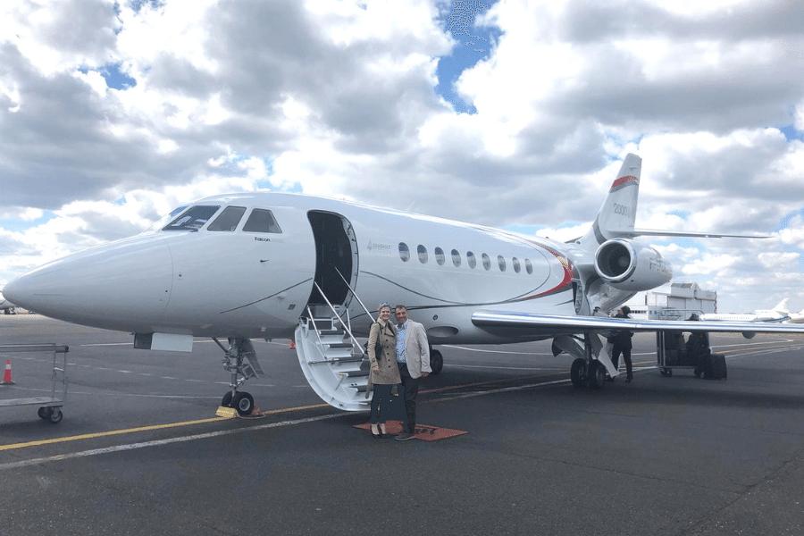 KJET, An Executive Jet Management Company Takes Flight In A Dassault Aircraft