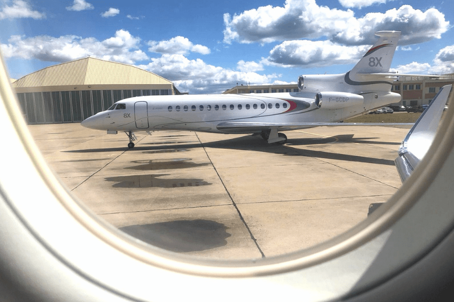KJET, An Executive Jet Management Company Takes Flight In A Dassault Falcon 8X