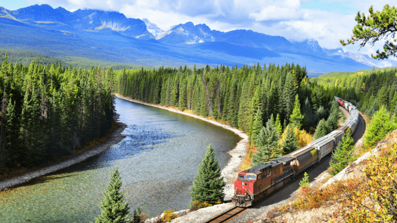 THE MOST BEAUTIFUL PLACES TO VISIT IN THE WORLD BY PRIVATE JET AFTER COVID-19. Banff National Park, Canada