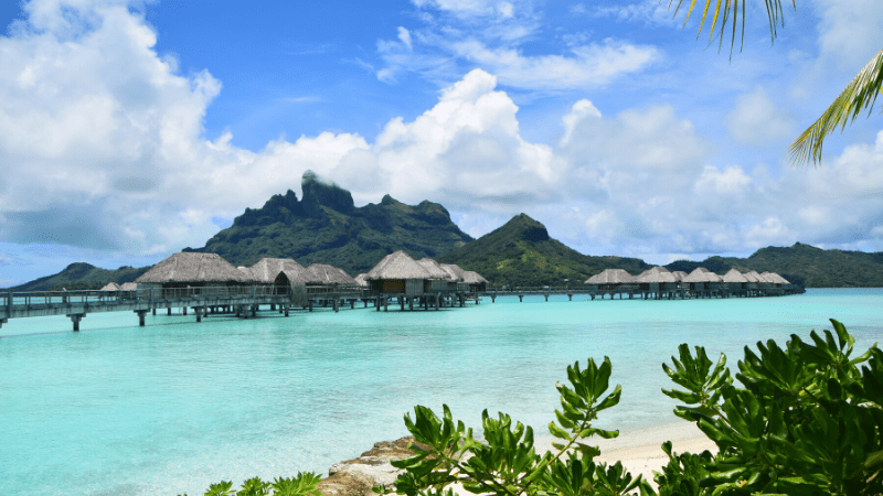 THE MOST BEAUTIFUL PLACES TO VISIT IN THE WORLD BY PRIVATE JET AFTER COVID-19 - Bora Bora, French Polynesia