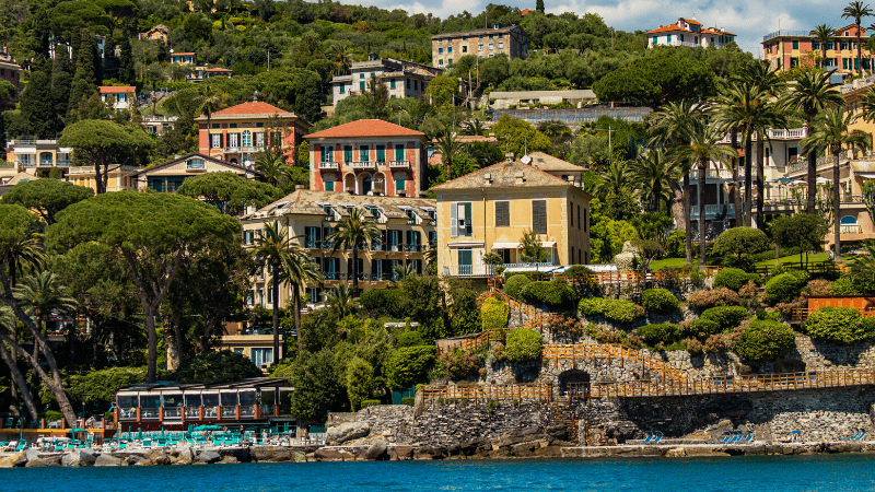 THE MOST BEAUTIFUL PLACES TO VISIT IN THE WORLD BY PRIVATE JET AFTER COVID-19 - SANTA MARGHERITA, ITALY