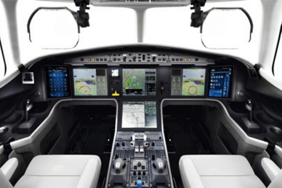Dassault Falcon 6x - digital flight control system