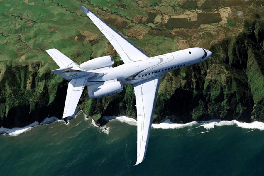 Dassault Falcon 6x - Wing