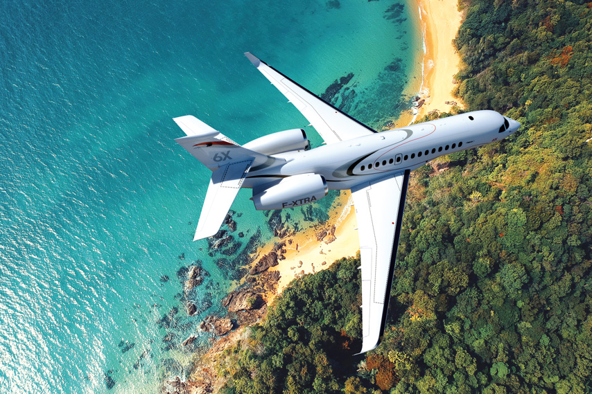 Spotlight on the New Dassault Falcon 6x - By KJET Aircraft Management