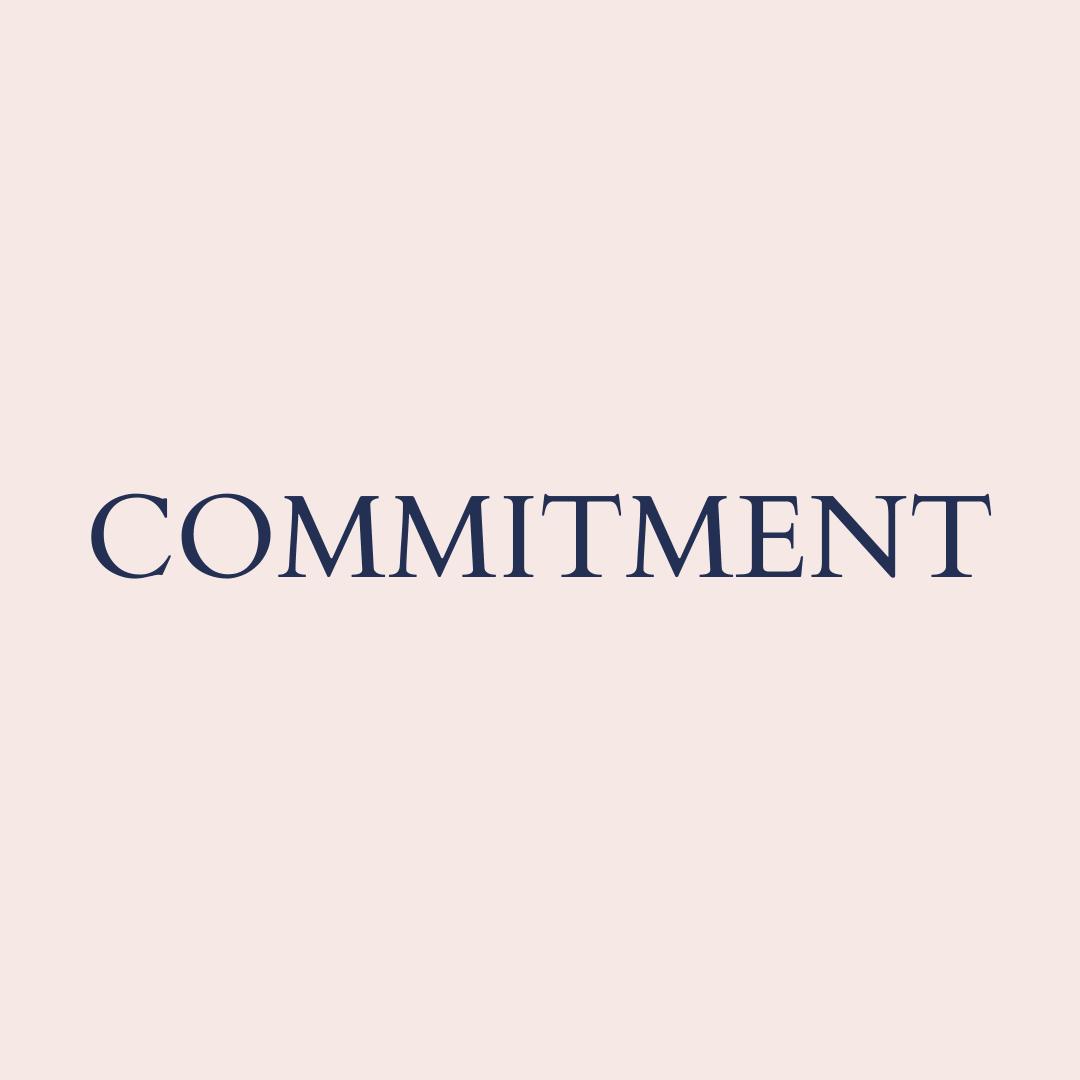 Commitment core value