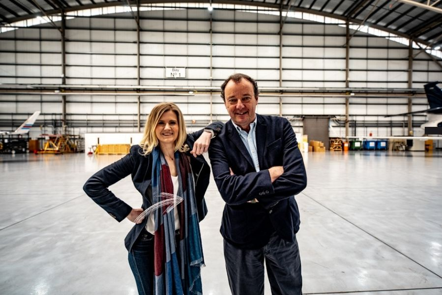 Kirsty Wheeler and Alan Hudson - KJET Aircraft Management